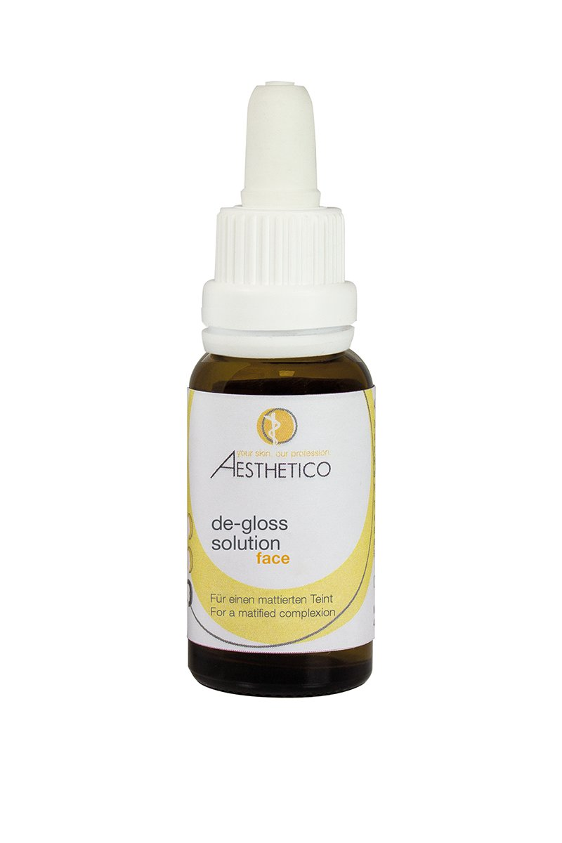 AESTHETICO de-gloss solution