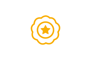 Icon: Qualität