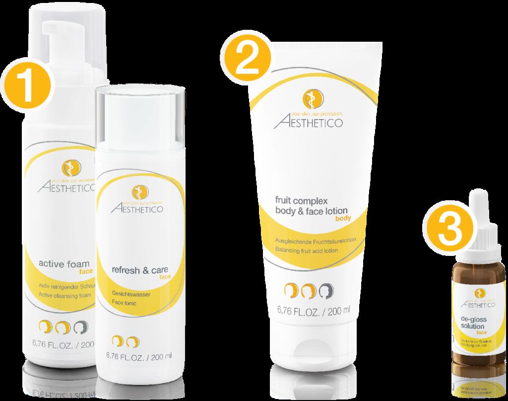 Produktpaket für Treatment 2: Unreine Haut verfeinern