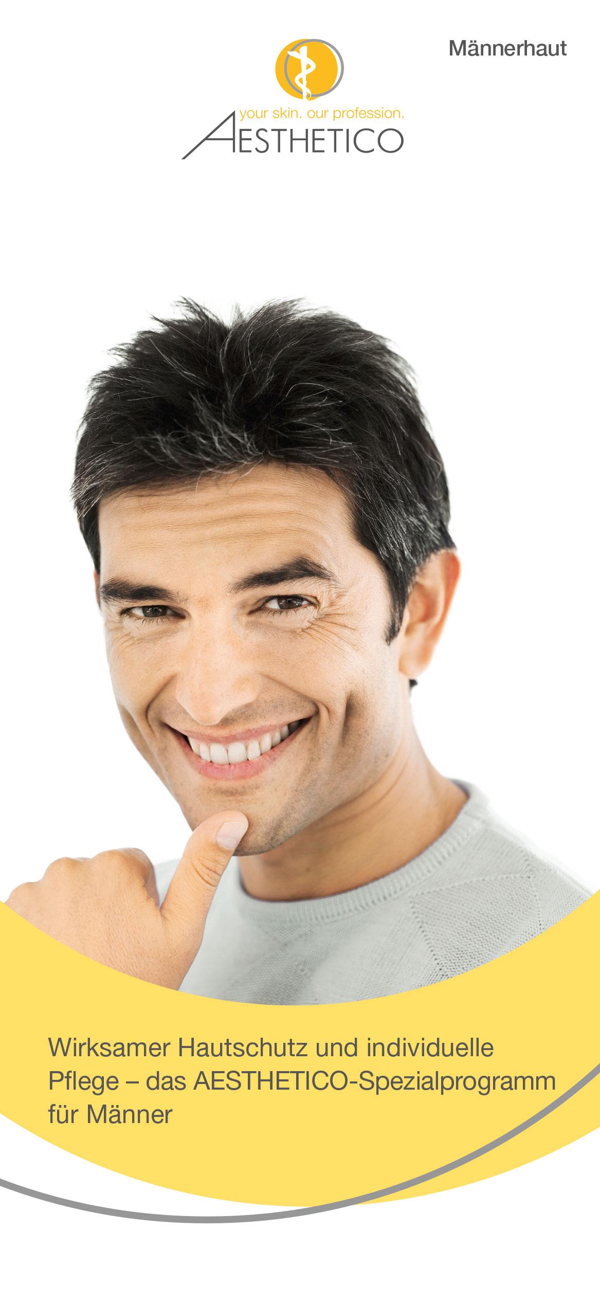 AESTHETICO Folder Männerpflege