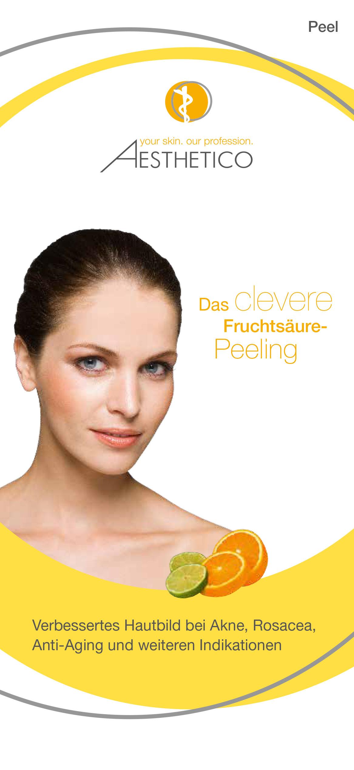 AESTHETICO Folder Fruchtsäure-Peeling