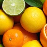 Limetten, Zitronen und Orangen